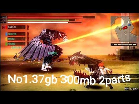 300mb 2files Gods Eater burst download & install link description by Dm  Play gaming