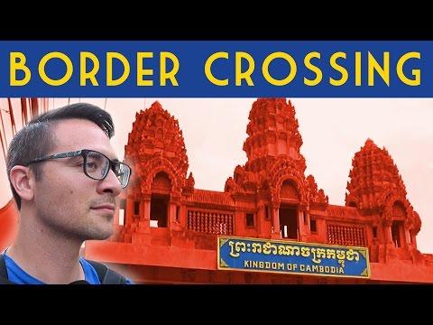 Thailand Cambodia Border Crossing \\ Bus From Bangkok To Siem Reap