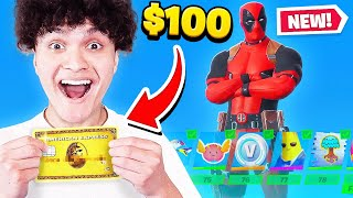 Kid Spends $100 On Season 2 *MAX* Battle Pass With Brother's Credit Card! (Fortnite)