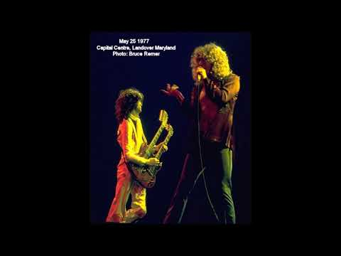 Led Zeppelin - Live In Landover, MD (May 25th, 1977)