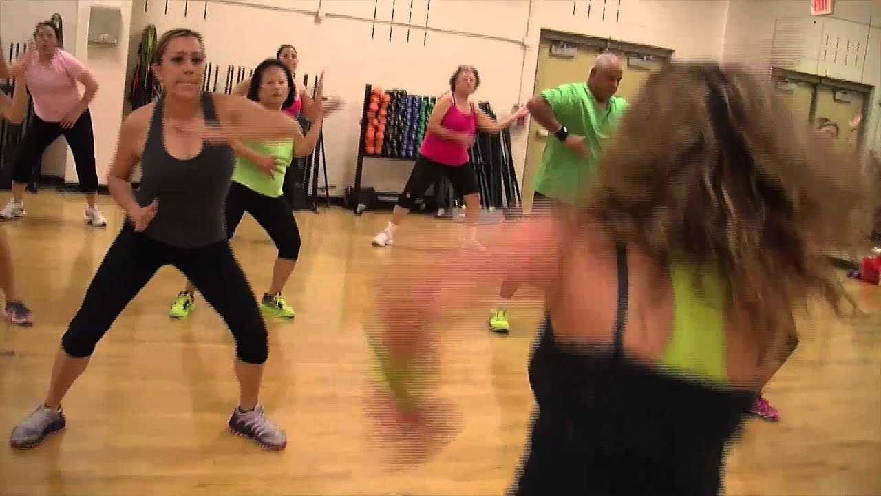 zumba at the ymca of greater houston - youtube