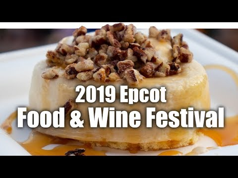 Epcot Food and Wine Festival 2019 (Trying 9 Items!) | Walt Disney World