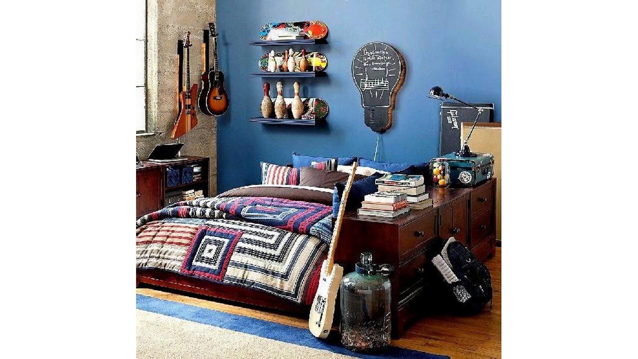 jungen teenager zimmer ideen youtube. Black Bedroom Furniture Sets. Home Design Ideas