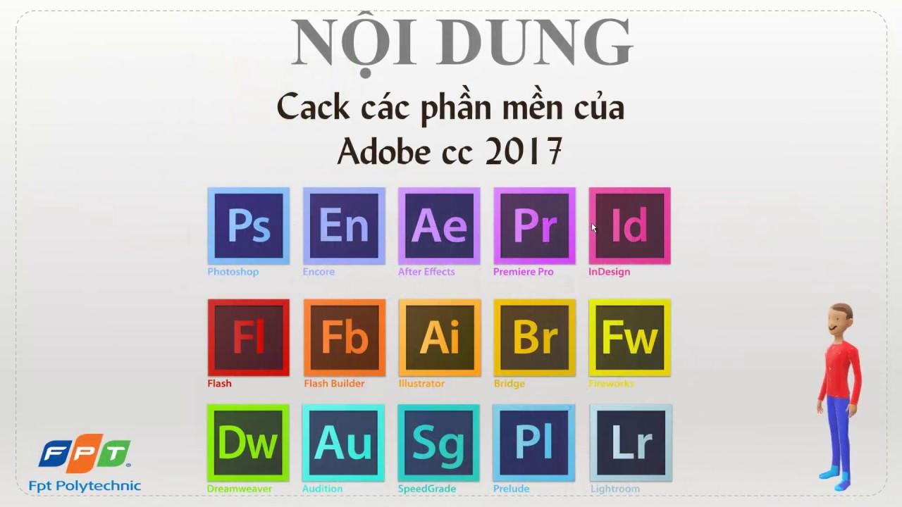 Cack Các Phần Mềm Của Adobe