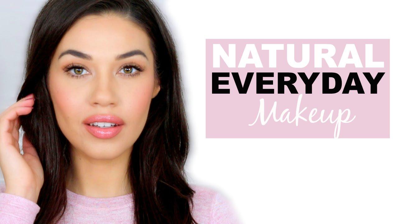 Simple natural everyday drugstore makeup tutorial how to makeup simple natural everyday drugstore makeup tutorial how to makeup for school or work eman youtube baditri Images
