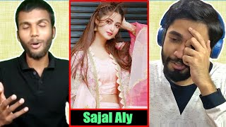 INDIANS react to Sajal Aly's Instagram