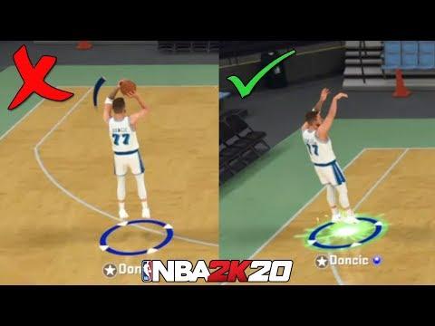 NBA 2K20'de Yeşil Atmak İstiyorsanız, Şut Barını Kapatın!