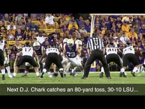 Watch LSU blow out Southern Mississippi in the 3rd quarter
