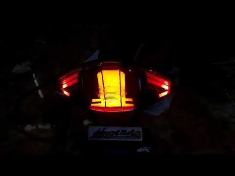 Modif stoplamp Honda Absolut revo