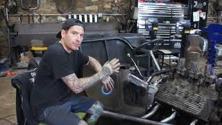 Repairing and Welding the Cowl Together- Ford Free-T - Ep. 40