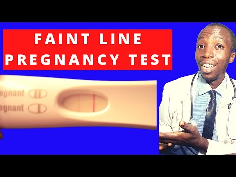 If I take a home pregnancy test and still see a faint line, does that mean I'm pregnant I 2nd line. from YouTube · Duration:  8 minutes 31 seconds