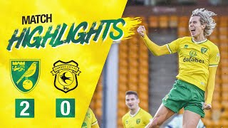 HIGHLIGHTS | Norwich City 2-0 Cardiff City