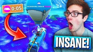 FASTEST STORM EVER In Fortnite: Battle Royale! (*NEW* BLITZ Game Mode Gameplay!)