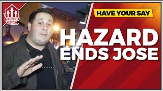 Hazard Will Sack Mourinho! Chelsea vs Manchester United Preview with 100PerCentChelsea