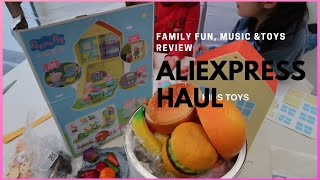 ALIEXPRESS HAUL 2019| Kids Toys Review | PEPPA PIG And GEORGE Playset