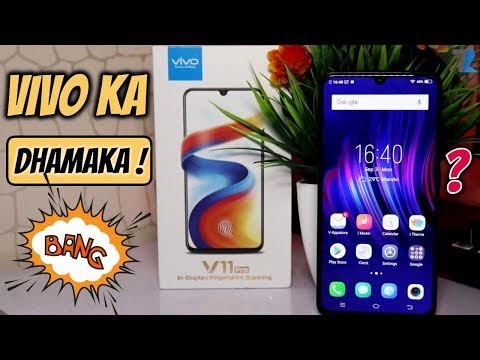 Vivo V11 Pro Unboxing & Hands On   Vivo Nailed It! Rs 25,990/-
