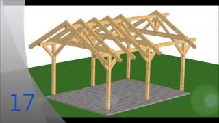 Repeat youtube video Cum Sa-ti Construiesti De Unul Singur Carport Pentru Masina [DIY][HD]