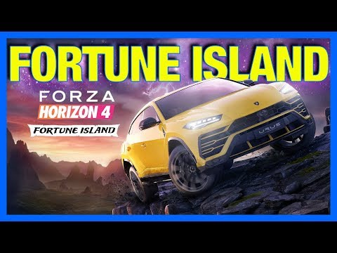 Forza Horizon 4 : FORTUNE ISLAND EXPANSION!!