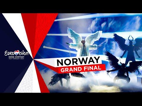 TIX - Fallen Angel - LIVE - Norway 🇳🇴 - Grand Final - Eurovision 2021