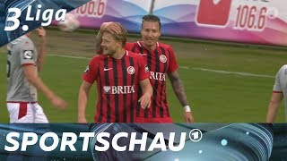3. Liga: Relegationsplatz - Wiesbaden schlägt Kaiserslautern   Sportschau