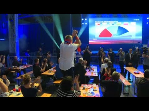 Austria: Far-right Freedom Party celebrates projected results