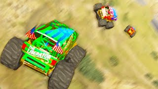 Monster Truck Madness (GTA 5 Funny Moments)