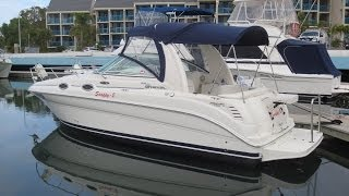 Sea Ray 275 Sundancer Sports Cruiser for sale Action Boating Boat dealer Gold Coast