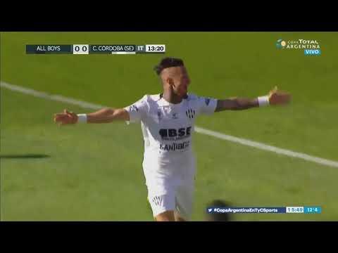 All Boys 0 - 1 Central Córdoba – Gol de Rodríguez – Copa Argentina 2019