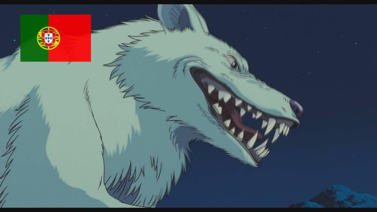 Princess Anime Wallpaper Princess Mononoke Moro Laughing In 11 Languages Youtube