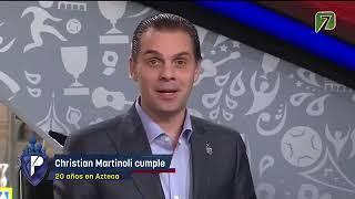 ¡Christian Martinoli cumple 20 años como comentarista en Azteca Deportes  Los Protagonistas