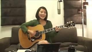 2013/2/17(日) 森恵さんのUSTREAMライブより Megumi Mori is a rising...