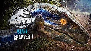 MEETING BLUE ON ISLA NUBLAR   Jurassic World: Blue Virtual Reality (Chapter 1)