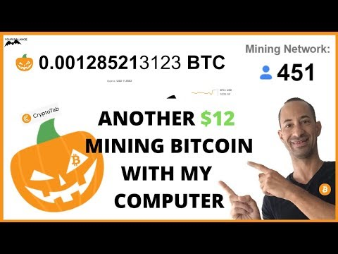 HOW I MADE ANOTHER $12 MINING BITCOIN WITH MY COMPUTER | CRYPTOTAB JUST WORKS🤷‍♂️