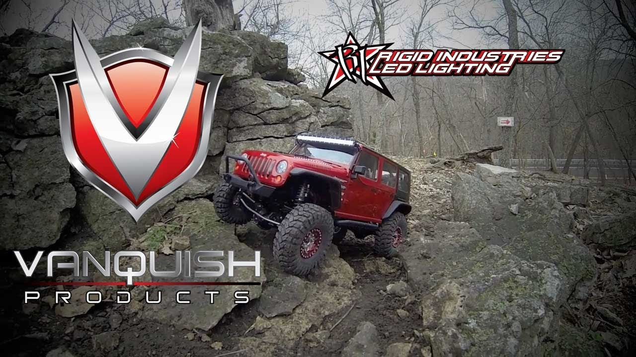 Rigid Light Bar >> Vanquish Products - Rigid Industries licensed LED light bar - YouTube