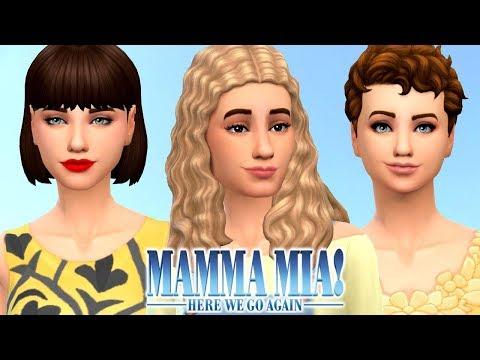 MAMMA MIA 2 - The Sims 4 | Create A Sim thumbnail