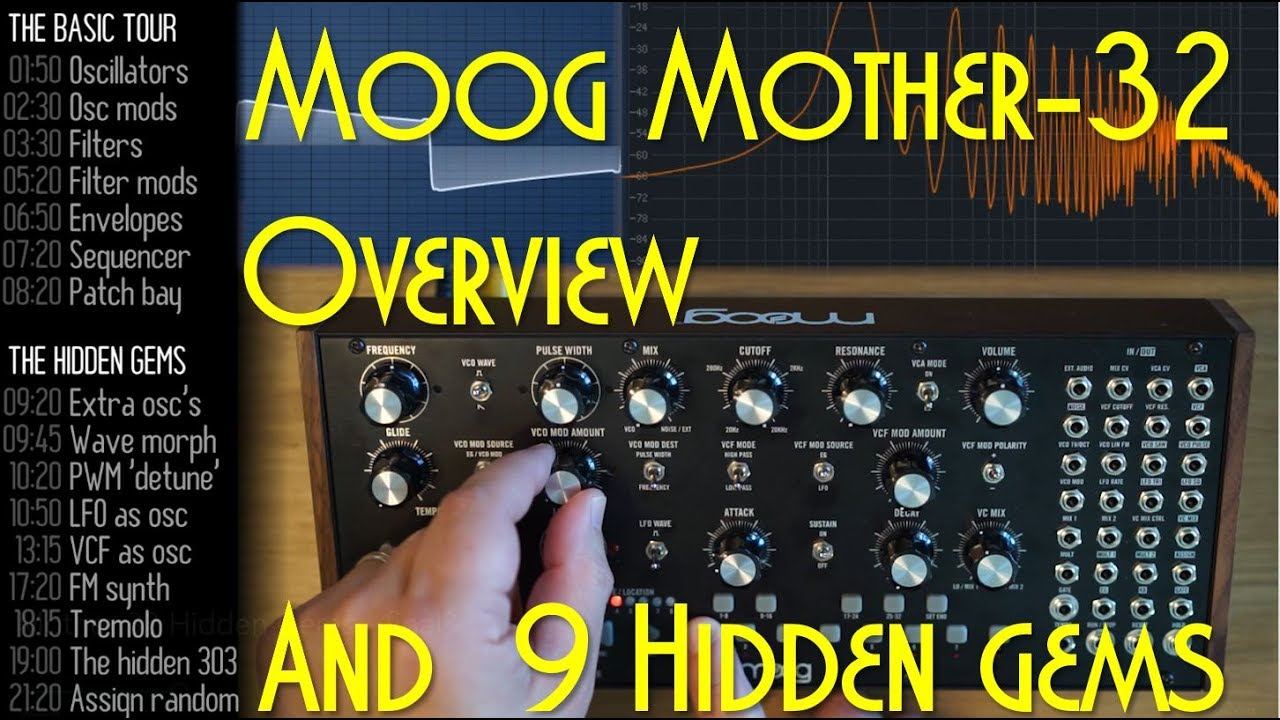 moog mother 32 review and 9 hidden gems youtube. Black Bedroom Furniture Sets. Home Design Ideas