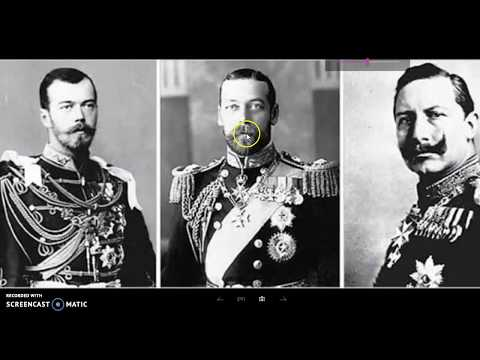 FLAT EARTH BRITISH ,The Tale Of Three Cousins.(  King George V )..pt 1