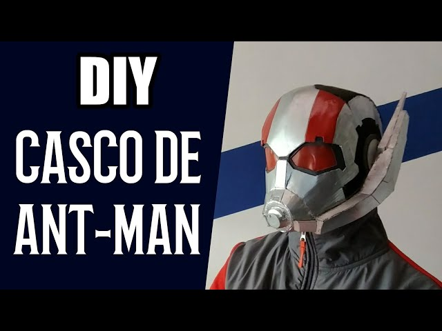 CÓMO HACER el CASCO de ANT-MAN * ANT-MAN AND THE WASP * DIY Ant-Man Helmet
