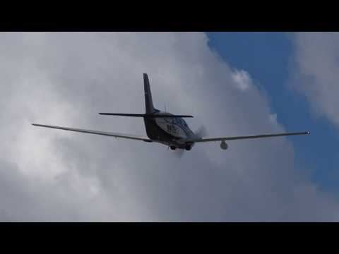 Piper PA-46-350P Malibu Mirage (N629CT) RWY22 takeoff San Sebastian (EAS/LESO)