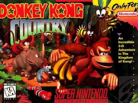 Donkey Kong Country (SNES) - Jungle Hijinx - 10 Hours Extended