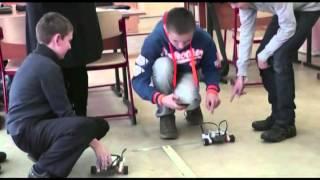 140128 Интегрированный урок физика + робототехника