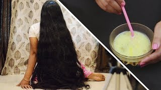 Egg and Castor Oil for Hair Growth || Double Hair Growth || Get Super Long Hair Fast