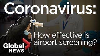 Coronavirus: how airports are screening for the illness