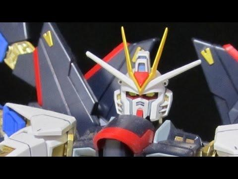 MG Strike Freedom (Part 2: Parts) Full Burst Mode: Gundam Seed Destiny review