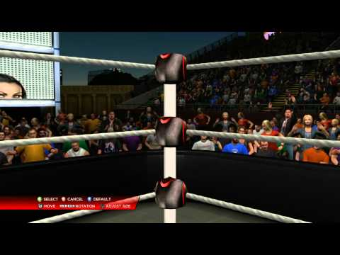 nL Live on Twitch.tv - The creation of the WWE 2K14 nL Arena