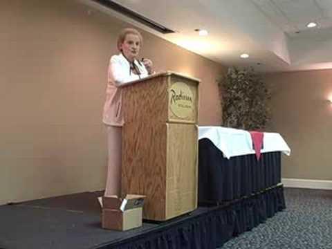 Albright Addresses SC Delegation I