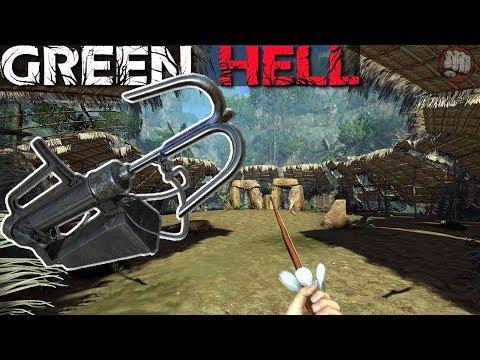 Grappling Hook Gun   Green Hell Gameplay   S4 EP13