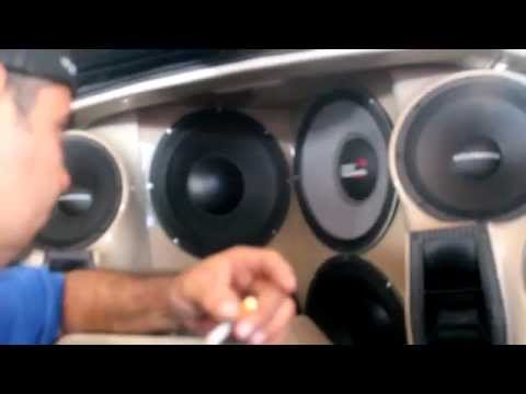 Selenium Speaker Blows During Car Audio Competition (part 2: The Upgrade)
