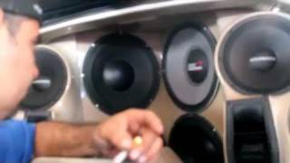 selenium speaker blows during car audio competition part 2 the upgrade