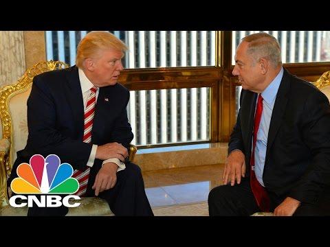 President Trump Meets With Israeli PM Benjamin Netanyahu | CNBC